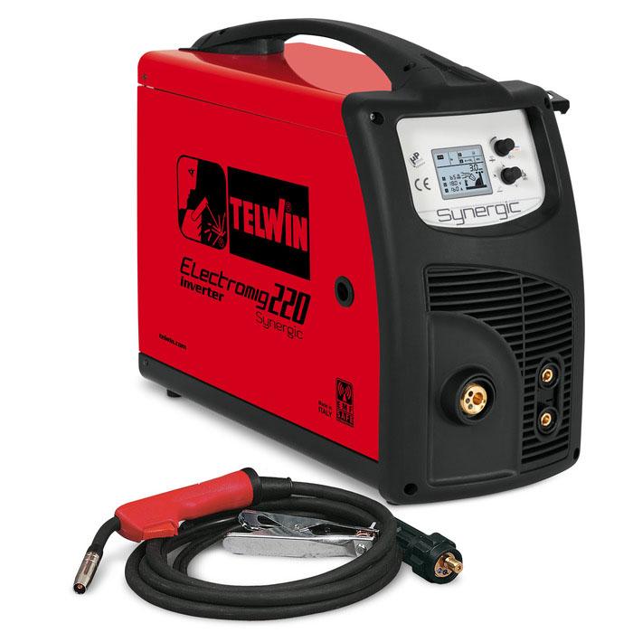 Synergic varilni aparat Telwin Electromig 220
