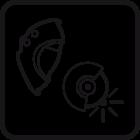 način brušenja logo